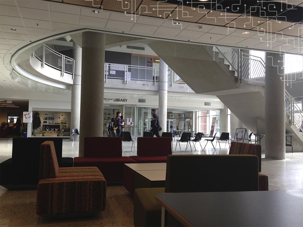 Área de descanso na KPU