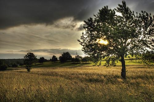 sun evening hdr reutlingen betzingen