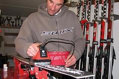 Vybavení pro svépomocný servis lyží