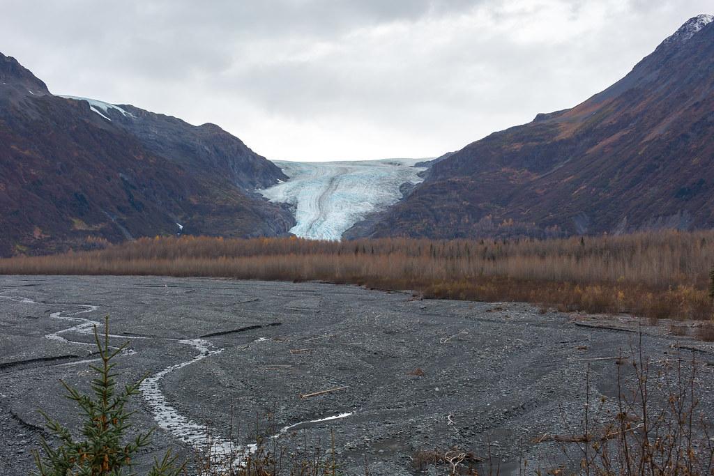 Alaska. Exit Glacier