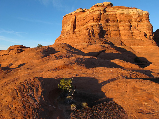 Sunrise on the Red Rock