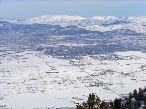 ski laketahoe heavenly snow