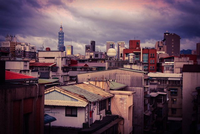 ...juxtapositions of Taipei..