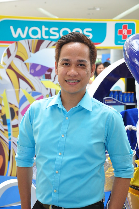 Dharell Fontanilla Marketing Manager for Beauty