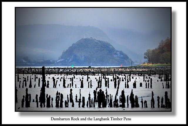 Distant Dumbarton Rock