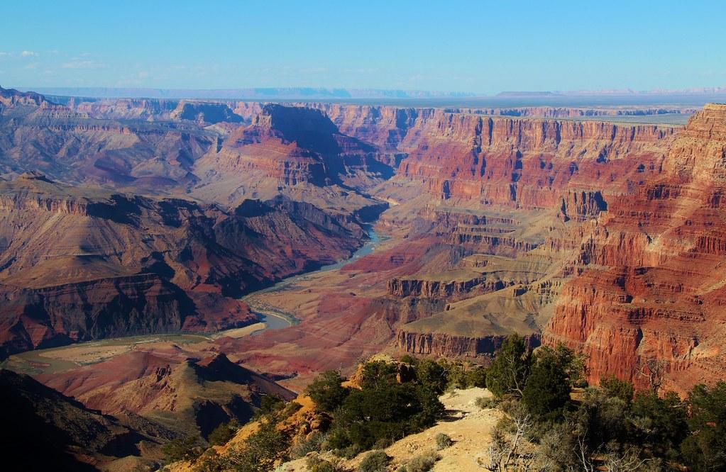 Elevation Of Grand Canyon Village Az Usa Topographic Map