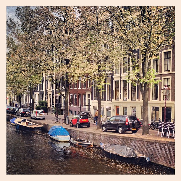 Amsterdam.  #hiltonadventures    Love this city!!!