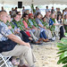 "A groundbreaking ceremony was held for Pālamanui, the planned Kona campus of Hawaiʻi Community College, on May 28, 2013. The $25 million first phase includes a structure with 24,000 square feet of classrooms, science labs, learning kitchens, library, learning commons area and a large photovoltaic system.   Go to the University of Hawai'i news site for more on the groundbreaking. <a href=""http://www.hawaii.edu/news/2013/05/29/uh-campus-coming-to-west-hawaii/"" rel=""nofollow"">www.hawaii.edu/news/2013/05/29/uh-campus-coming-to-west-h...</a>"