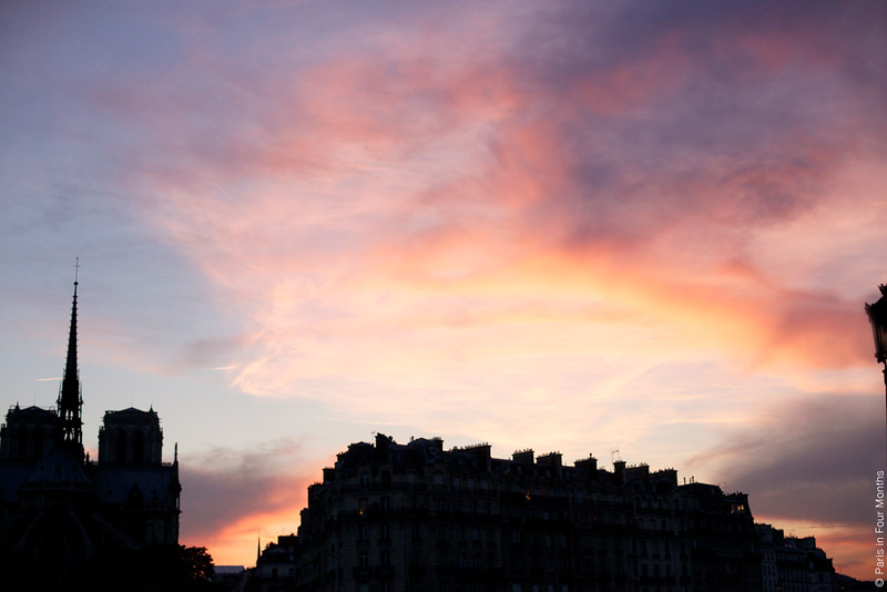 This Amazing Parisian Sky