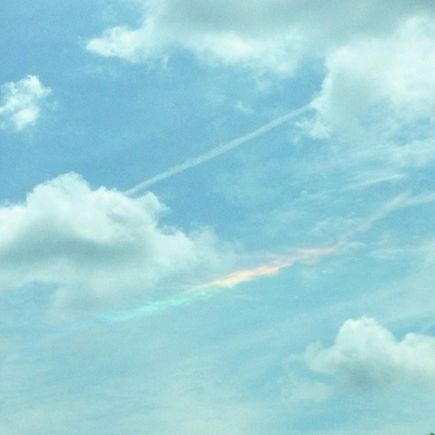 "Will screams from the backseat ""I see a rainbow!""...so thankful for his little eyes that ""see."" #1000gifts, #rainbow"