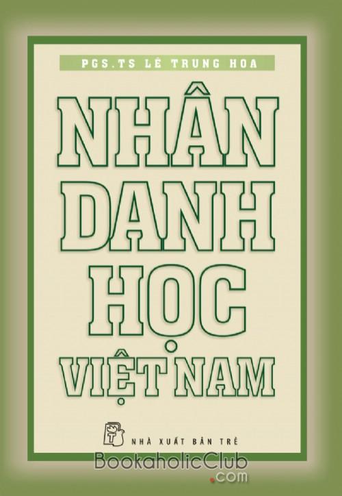 Nhân danh học Việt Nam