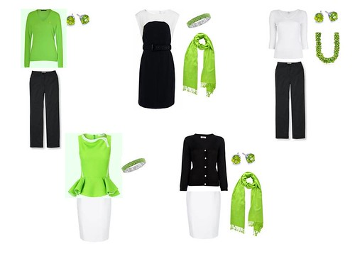 Lime green integrated