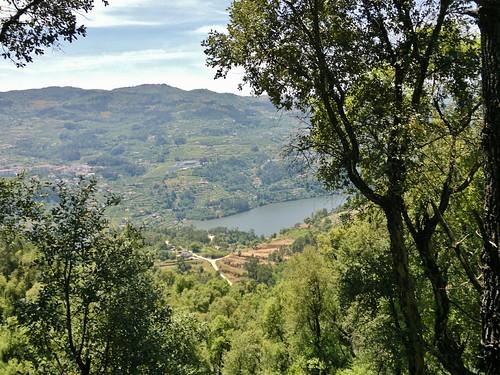 River Douro valley near Passos, Porto, Portugal