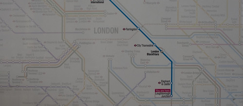 Crossrail appearing on rail maps