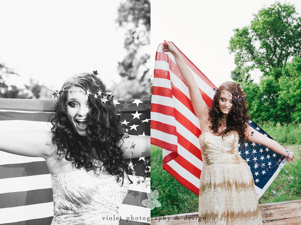 Americana Inspired Photoshoot