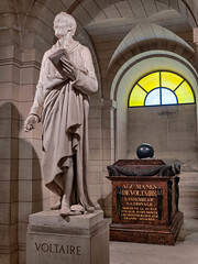 Voltaire's Tomb, The Pantheon, Paris