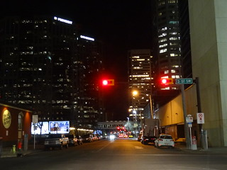 Calgary by night