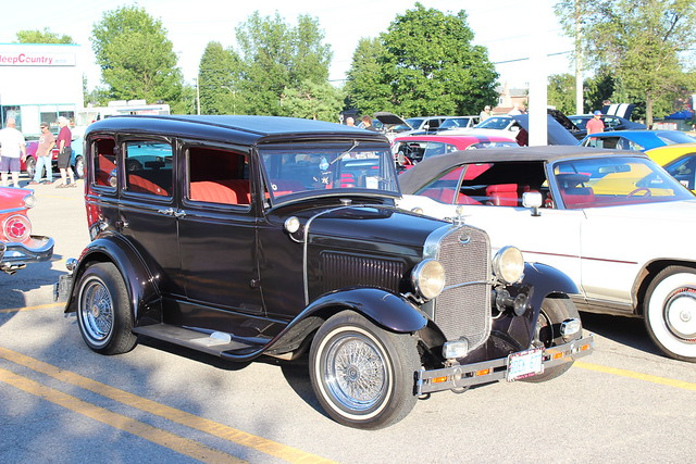 1931 ford model a hot rod 4 door flickr photo sharing for 1931 ford model a 4 door