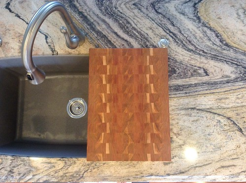 Jones custom cherry cutting board