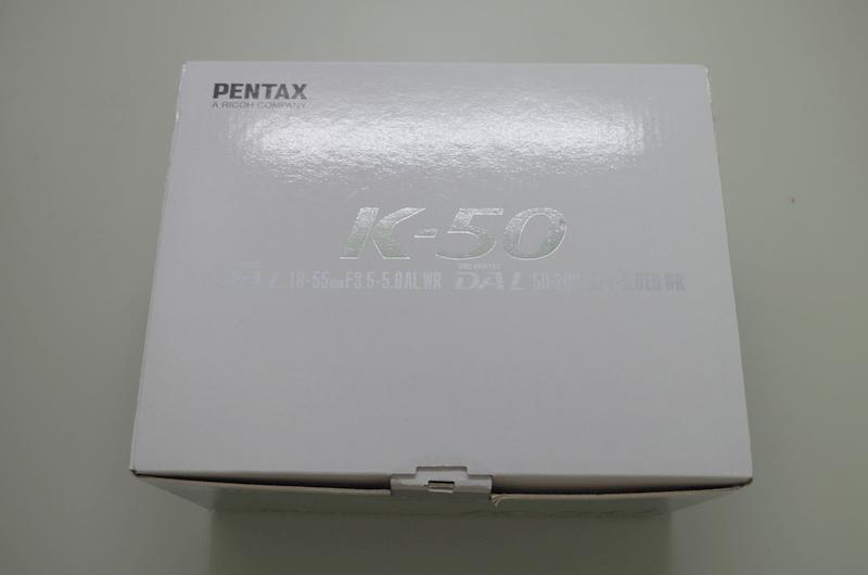 超級新手 K-50 無敵不專業開箱文!!