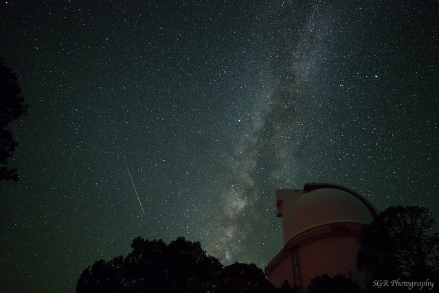 Perseid fireball