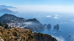 Capri from Monte Solaro