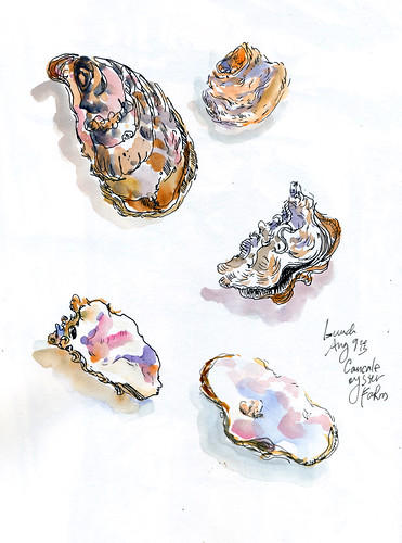 August 2013: France - Oysters