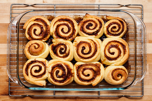 Alton Brown Overnight Cinnamon Rolls - Fully Baked