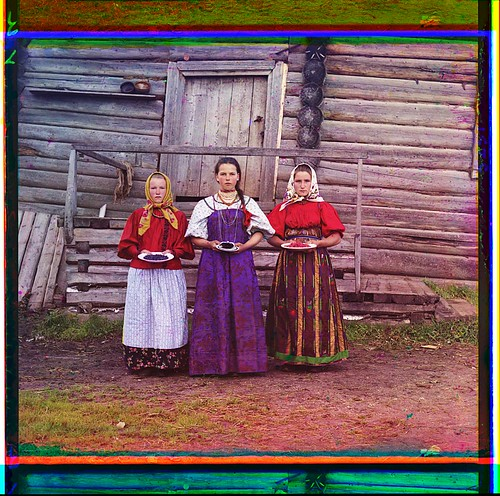 Peasant girls. [Russian Empire] (LOC) by The Library of Congress
