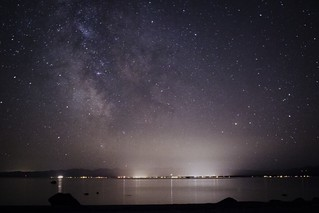 Stargazing at Savary Island, BC