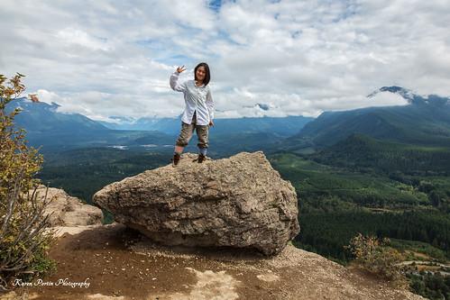 cliff boulder rani rattlesnakeledge
