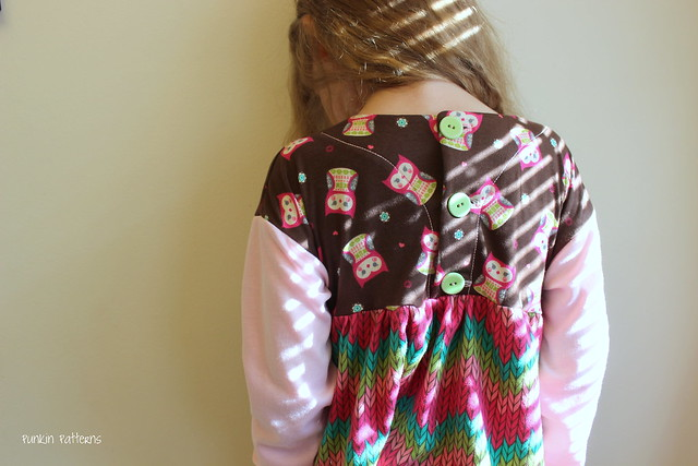 Knit Playtime Tunic, back
