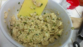 Spicy mayo/onion chicken