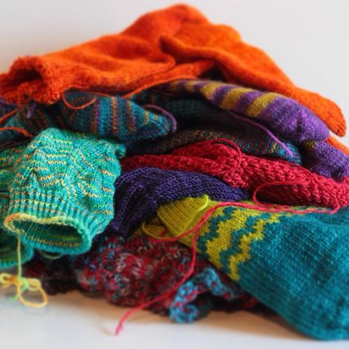Jos joskus jopa päättelisin... #wip #knitting