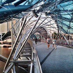 Helix Bridge #Singapore #architecture #archdaily #bridges #instagood