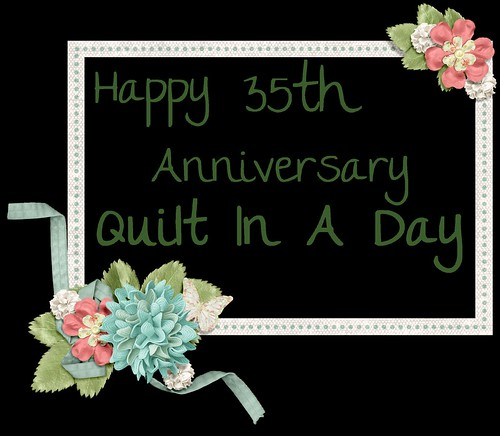 happy 35th Anniversary To Quilt In A Day