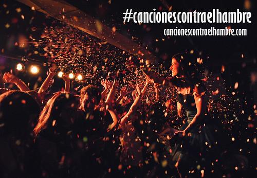 #Cancionescontraelhambre