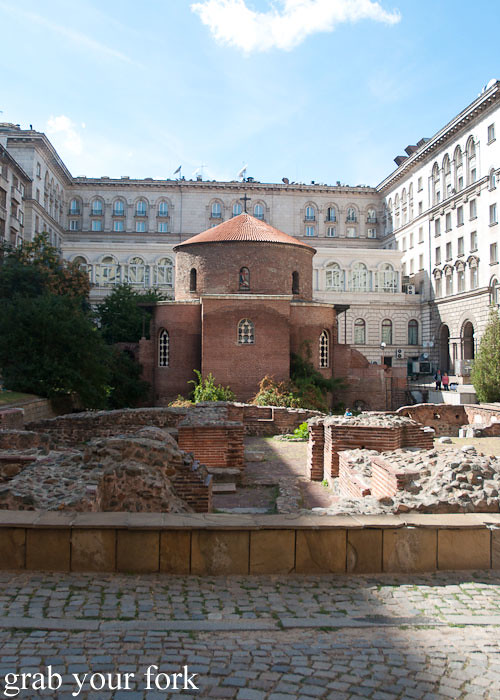 church of st george rotunda sofia bulgaria
