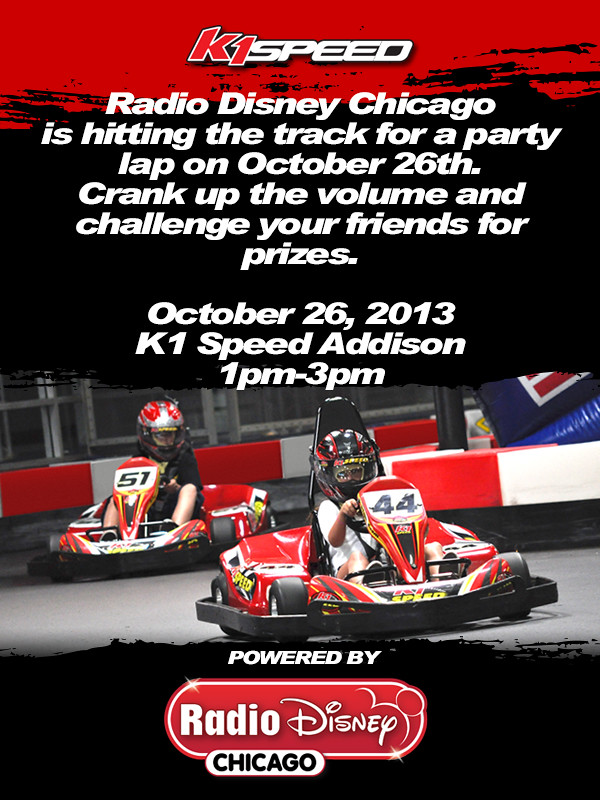 10273168363 551dedce33 b Radio Disney Chicago at K1 Speed!
