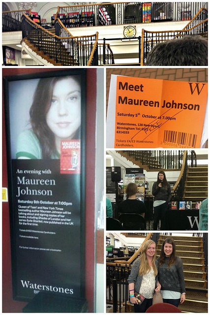 An evening with Maureen Johnson event