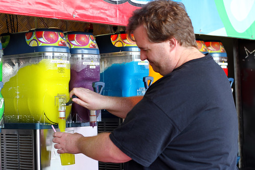 Perth Royal Show 2013 - Mike 'Mixes' His Super Slush