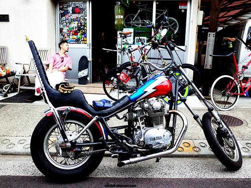 酒 レーサー (Sake Racers): yamaha xs650 chopper