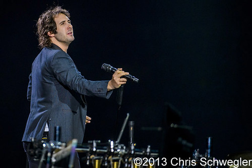 Josh Groban – 10-24-13 – In The Round Tour, The Palace Of Auburn Hills, Auburn Hills, MI