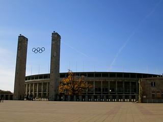 Olympia Stadion, 1936 Olympics