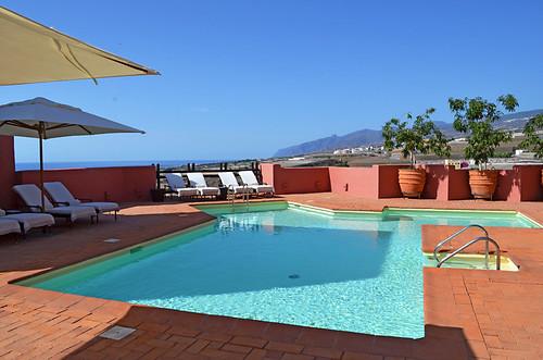Small swimming pool, Abama Hotel, Playa San Juan, Tenerife