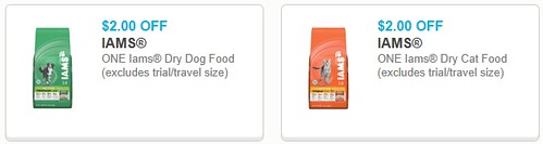 picture about Printable Cat Food Coupons named Iams Dry Cat Meals 0.85/lb with Printable Discount codes and Pay as you go