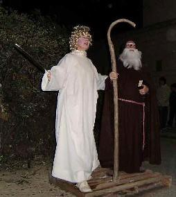 Sant Antoni salvat per l'angel