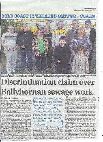 nov 6 2013 ballyhornan a sewage by CadoganEnright
