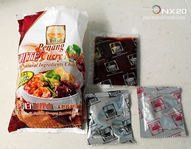 mykuali penang white curry instant noodles packing