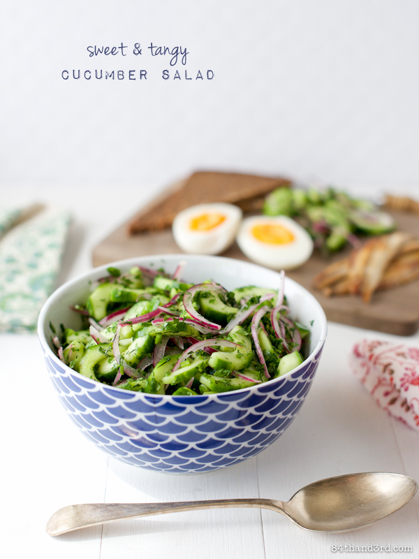 Swedish Cucumber Salad